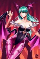 Morrigan by titi-artwork