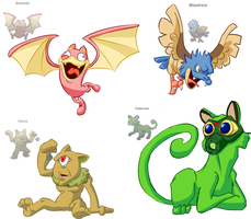 Pokemon Fusion by TheBrokenMonkey