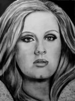 Adele... by candysamuels