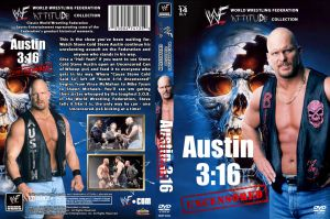 WWE Austin 3:16 - Uncensored DVD Cover by Chirantha