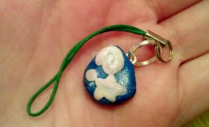 Animal crossing fossil charm by MeowMowRaa