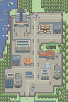 Rustboro City Pokemon Version by Ducklol