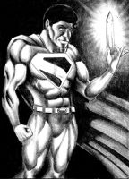 Superman and the Crystal by Frohickey