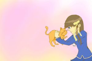 Tohru and Kyo by amy23000