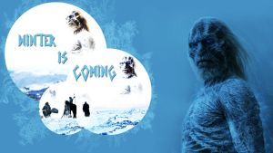 Winter is Coming by Super-Fan-Wallpapers