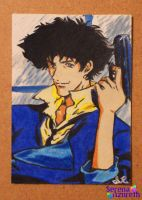 Spike Spiegel ATC by SerenaAzureth