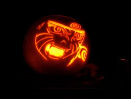 Kyuubi Naruto Pumpkin Carving by RiCeBaLL-ROsiE