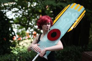 Transistor and red by Diegator