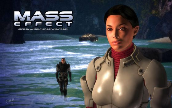 Ashley Williams #01 (Mass Effect) v2.0 by JakeCarver