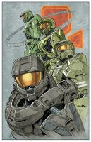 Master Chief Iterations by KitoYoung