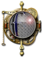 Steampunk Facebook Icon MkII by yereverluvinuncleber