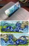 Dragonator Bookmark by Natoli