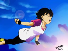 videl fly by zeshgolden