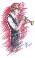 The trumpeter by Utchan09