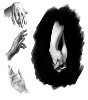 Hands (Assignment for #Sketch-Books) by Outrack