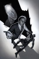 Two-Face vs. Batman by No-Sign-of-Sanity