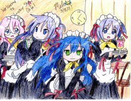 Welcome to Lucky Star Cafe! by MitsukiChan313