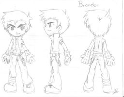 brandon el demonio boceto by Mangaza