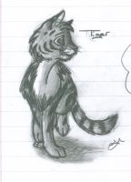 Tiger Sketch by KuchingOfHades