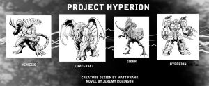 Project Hyperion Creature Designs by KaijuSamurai