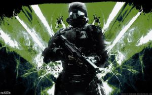halo 3 odst green wallpaper by shedg