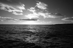 Winter Sun and Sea by sags