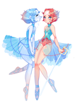 Pearl and Holopearl by lana-jay