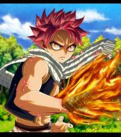 Fairy Tail Natsu Dragneel by Kyuubii9
