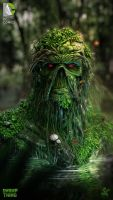 swampthing by saadirfan
