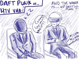 DAFT PUNK at VMA by MarianaOrtiz