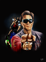 Mortal Kombat - Johnny Cage by JhonatasBatalha