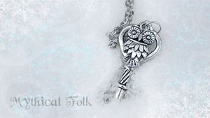 Snowy Owl Key by MythicalFolk