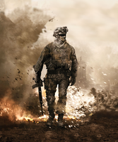 Modern Warfare 2 1st Cover. by CoKra