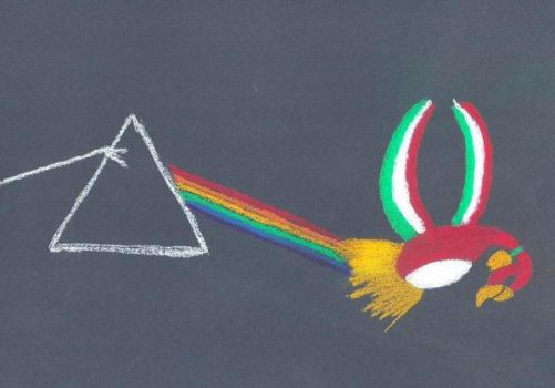 Pokemon Floyd - The dark side of the Ho-oh by GoldenFalchion