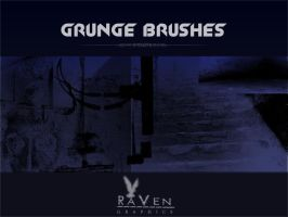 Grunge Brushes RG by RavenGraphics