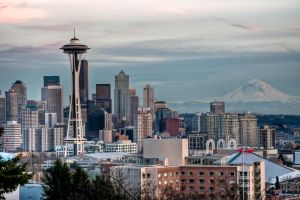Seattle Skyline Master HDR 1 by AaronPlotkinPhoto