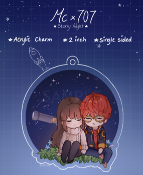[pre-order] MCx707 Starry night charm! by Oretsuu