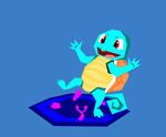 20th Anniversary of Pokemon. No. 007: Squirtle by Anju-Addams