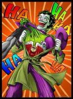 Joker Ace Up His Sleeve by CamT