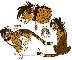 Cheetah design -commish- by KaiserTiger