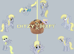 Ditzy Doo or Derpy Hooves V2 by ThePRPD