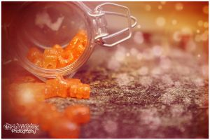 Orange Burst by Clerdy