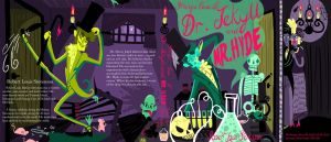 Dr. Jekyll and Mr. Hyde Book Cover by LilUFO