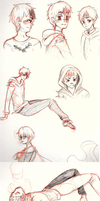 PKMN-Outlast: Roy sketches by BreiGrace