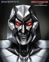 Movie Megatron Head Design by timshinn73