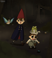 Over the Garden Wall by Kallian91