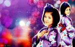 Mitsui Aika 17 wishes by Lie74