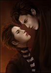 Pair of Vampires by MSilenceART