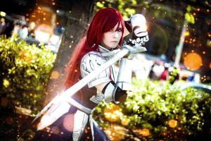 The Knight has returned by SCARLET-COSPLAY