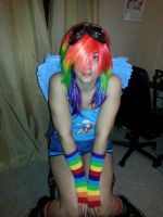 Rainbow Dash cosplay - 2 by Naelia12